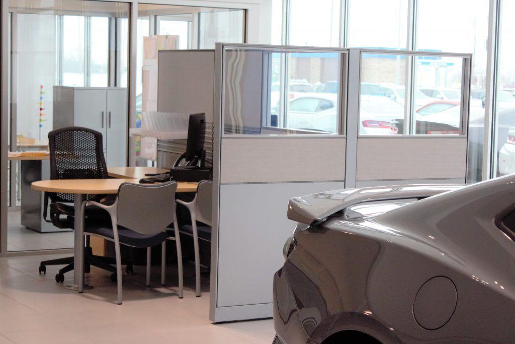 Uftring Chevrolet Office Redesign Interior, Chair