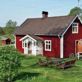 Idyllisch gelegenes, authentisches Ferienhaus Schweden mit