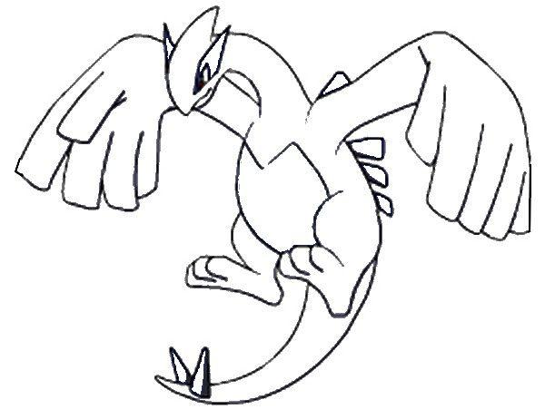 Coloring Pages Pokemon Lugia Drawings Pokemon Pokemon Coloring Pages Pokemon Lugia Pokemon Coloring