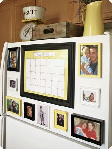 If you have to put things on your fridge, this would be the way to ...