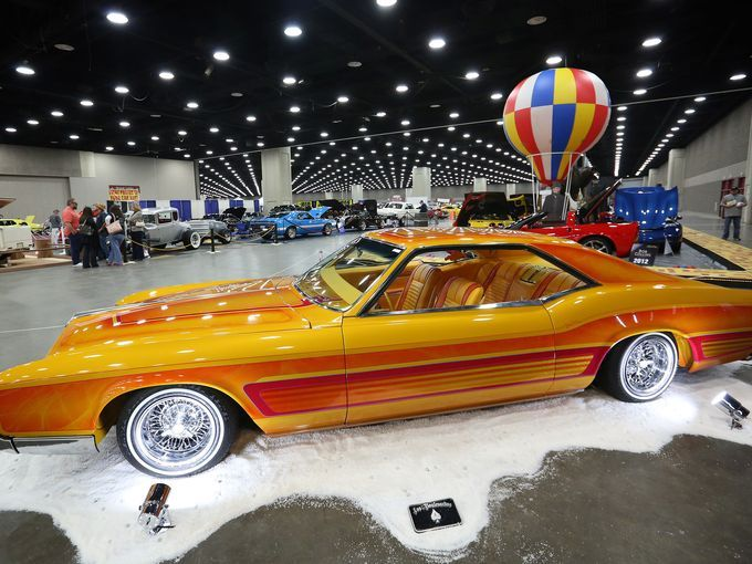 A Buick Riviera Is Featured At The Carl Casper Custom Auto Show - Louisville car show