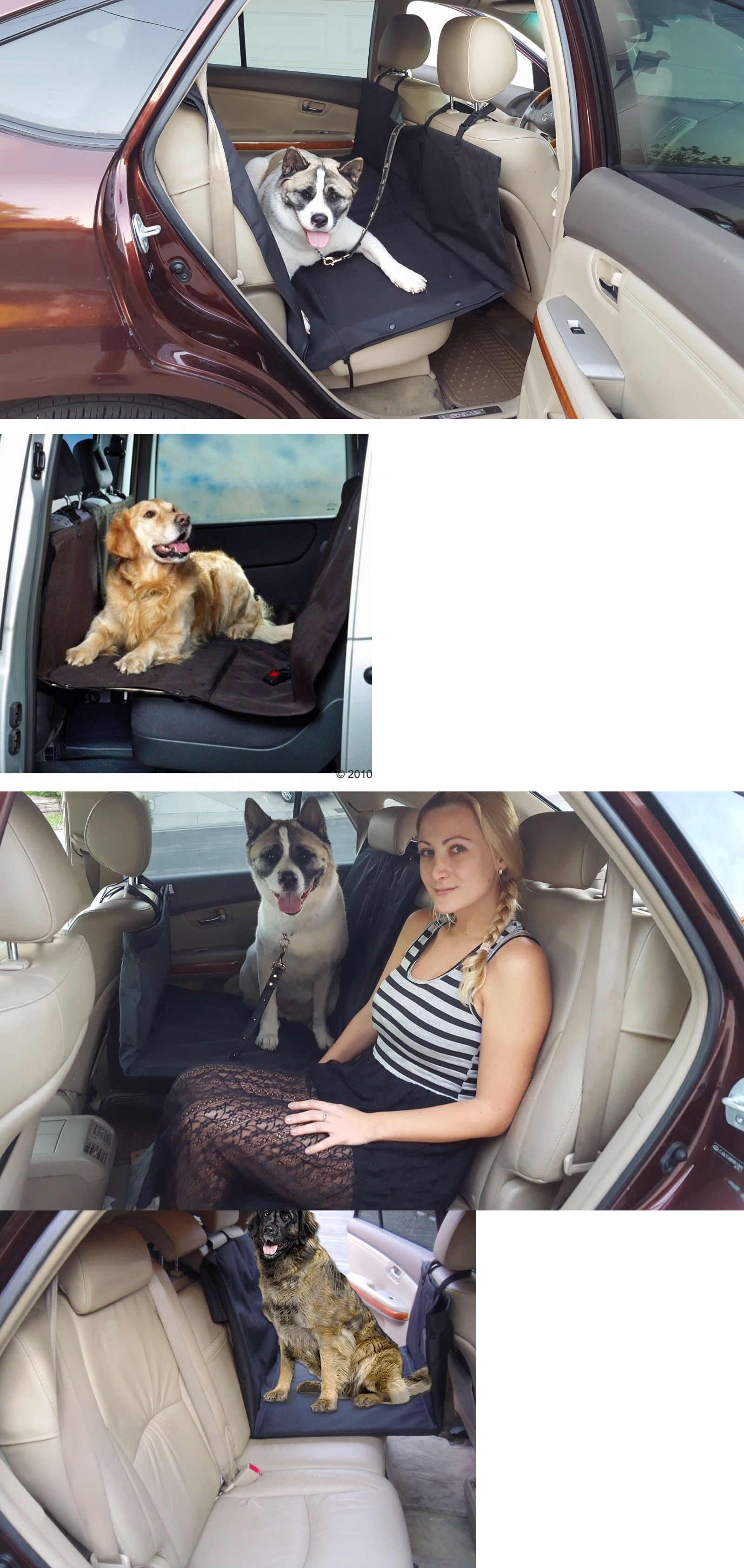 Car seats and barriers toyota pet heavy duty rear seat cover
