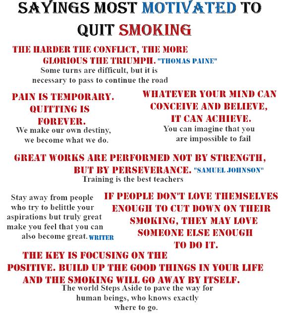 Laser training stop smoking