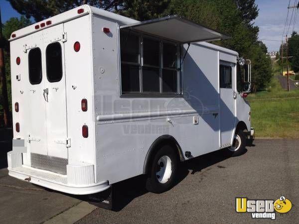 GMC P35 Mobile Kitchen Truck for Sale in Washington | Food Trucks ...