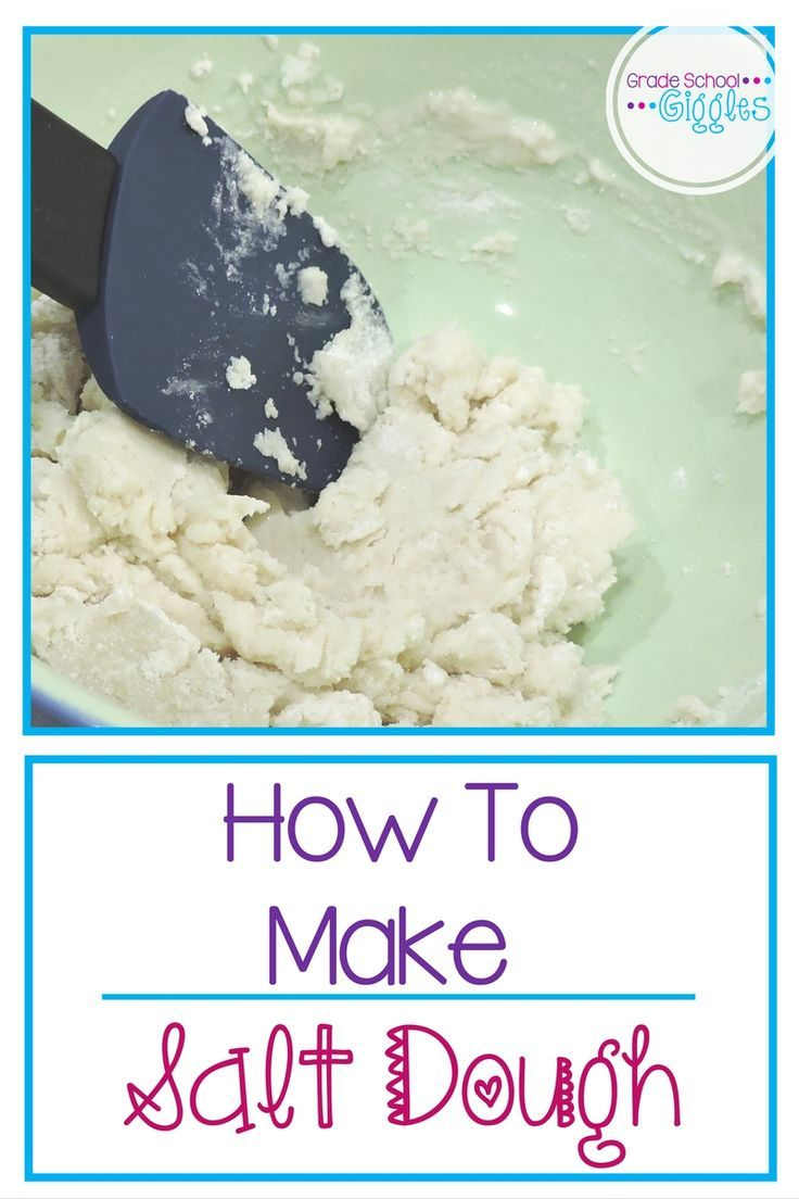 How to Make and Use Salt Dough - Grade School Giggles