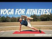 POWER Yoga for Athletes  15 min Advanced Workout! #yogaforathletes yoga fitnees #15minworkout