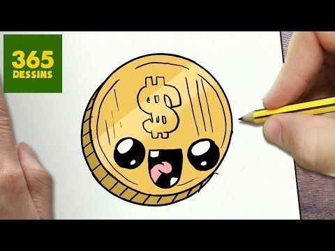Comment Dessiner Monnaie Kawaii étape Par étape Dessins