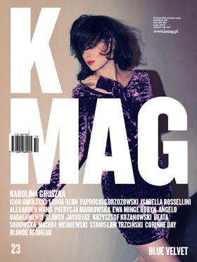 K MAG 23 Blue Velvet