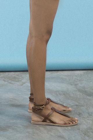 21c567f29c4 Ancient Greek Sandals - Estia Leather Sandals