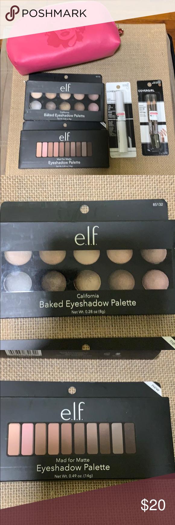 e.l.f. Clay Eyeshadow Palette   Elf eyeshadow palette