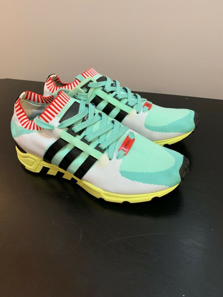 best sneakers bc00b a5b9e Adidas EQT Support Primeknit Running Shoes Men's US Size 9.5 ...