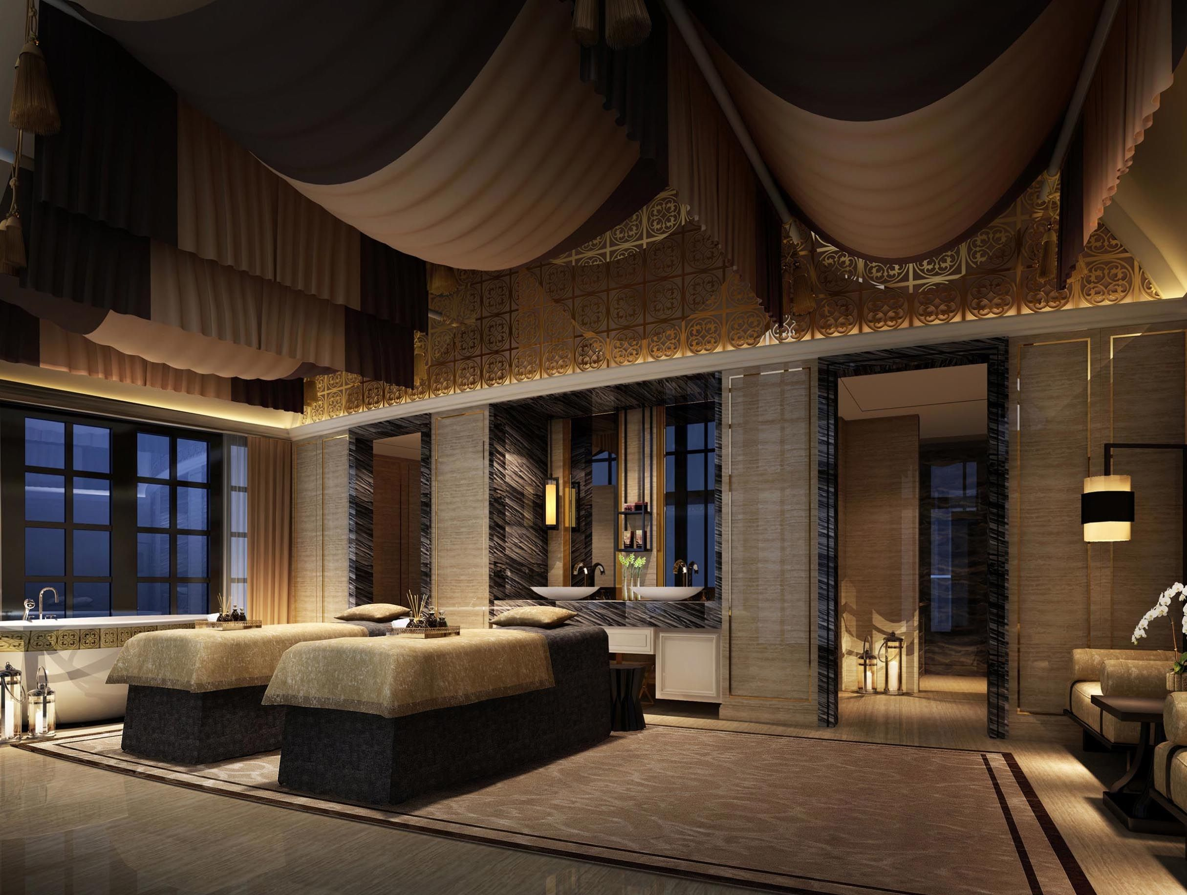 Merge Design Concept Spa Rooms Spa Interior Resort Spa