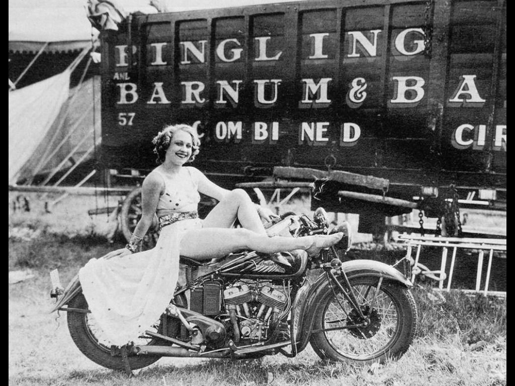 """motorcyclearchive """" vintage harley panhead knucklehead"""