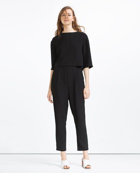À Zara 1 Clothes Longue De Cape Image Combinaison PqIwS