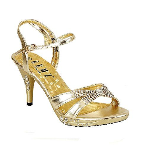 7842dd951f1 Pin by donna mead on Wedding shoes | Diamante sandals, Wedding shoes ...