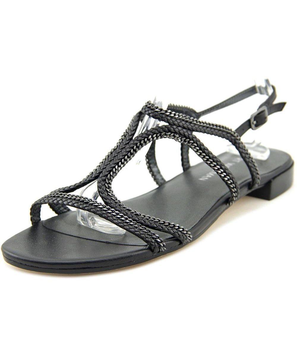 STUART WEITZMAN Stuart Weitzman Samoa Women  Open-Toe Leather Black Slingback Sandal'. #stuartweitzman #shoes #sandals