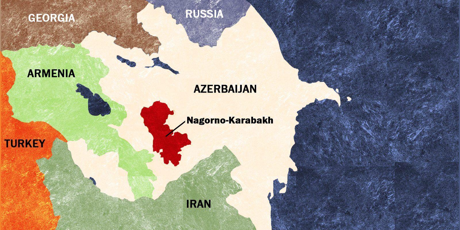 Artsakh in Eurasia ARTSAKHNAGORNO KARABAKHDISPUTED TERRITORY
