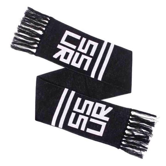 SSUR black scarf Ssur scarf; perfect condition. Retails for $50 : closet stored!  obey diamond supply Supreme Accessories Scarves & Wraps