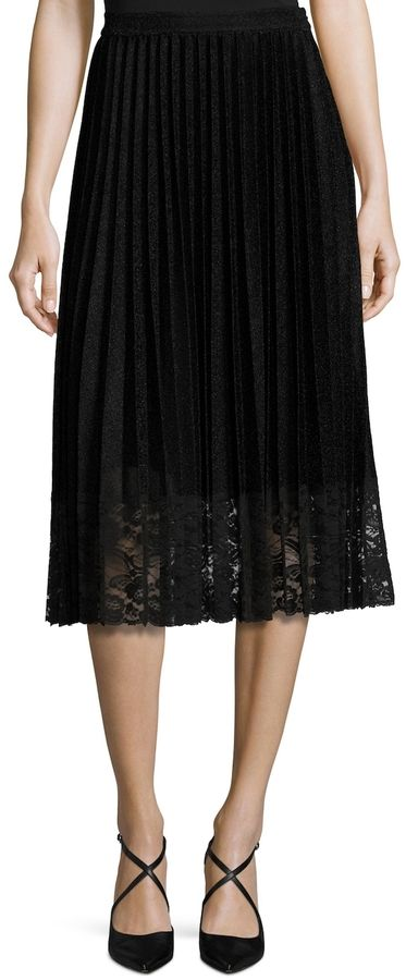 75514c2d50 Vivienne Tam Women's Lame Sun Pleated Skirt | Products