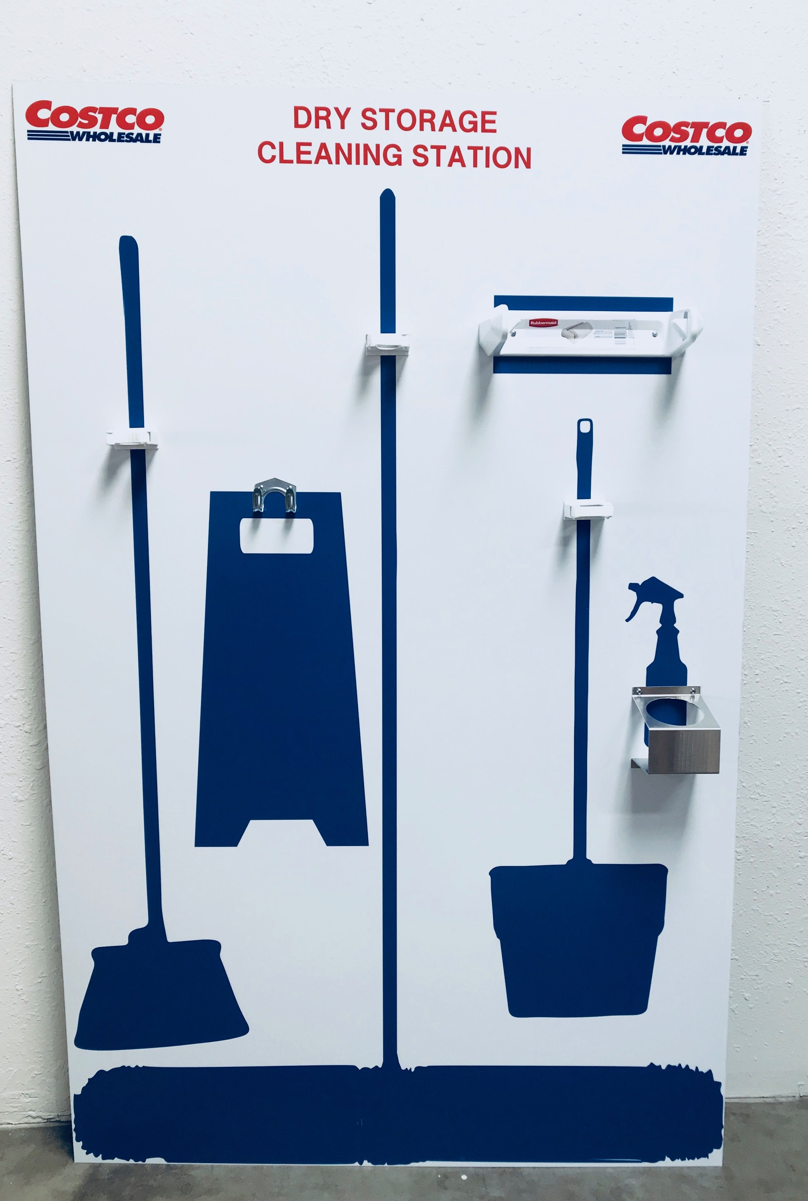 We created a series of Lean 5S Cleaning Stations for Costco ...