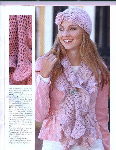 Atractivo Gratis Patrones De Crochet Bufandas Patrón - Patrón de ...