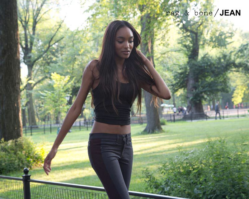 Jourdan x Rag & Bone – Jourdan Dunn is the latest model to star in Rag & Bone's D.I.Y. Project where participants capture candids of themselves wearing the label's denim line. The British stunner photographed herself in London at her new apartment, and in New York City at Central Park.