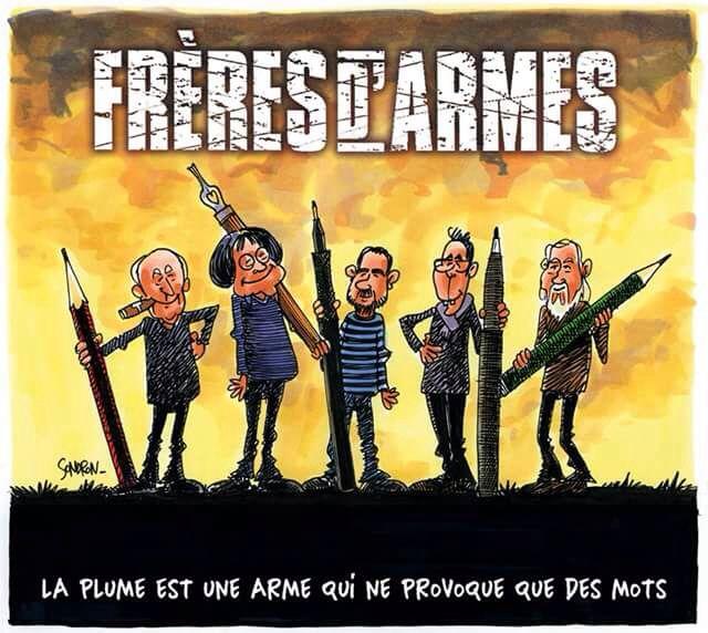 Charlie Charlie Hebdo Satirique Interview