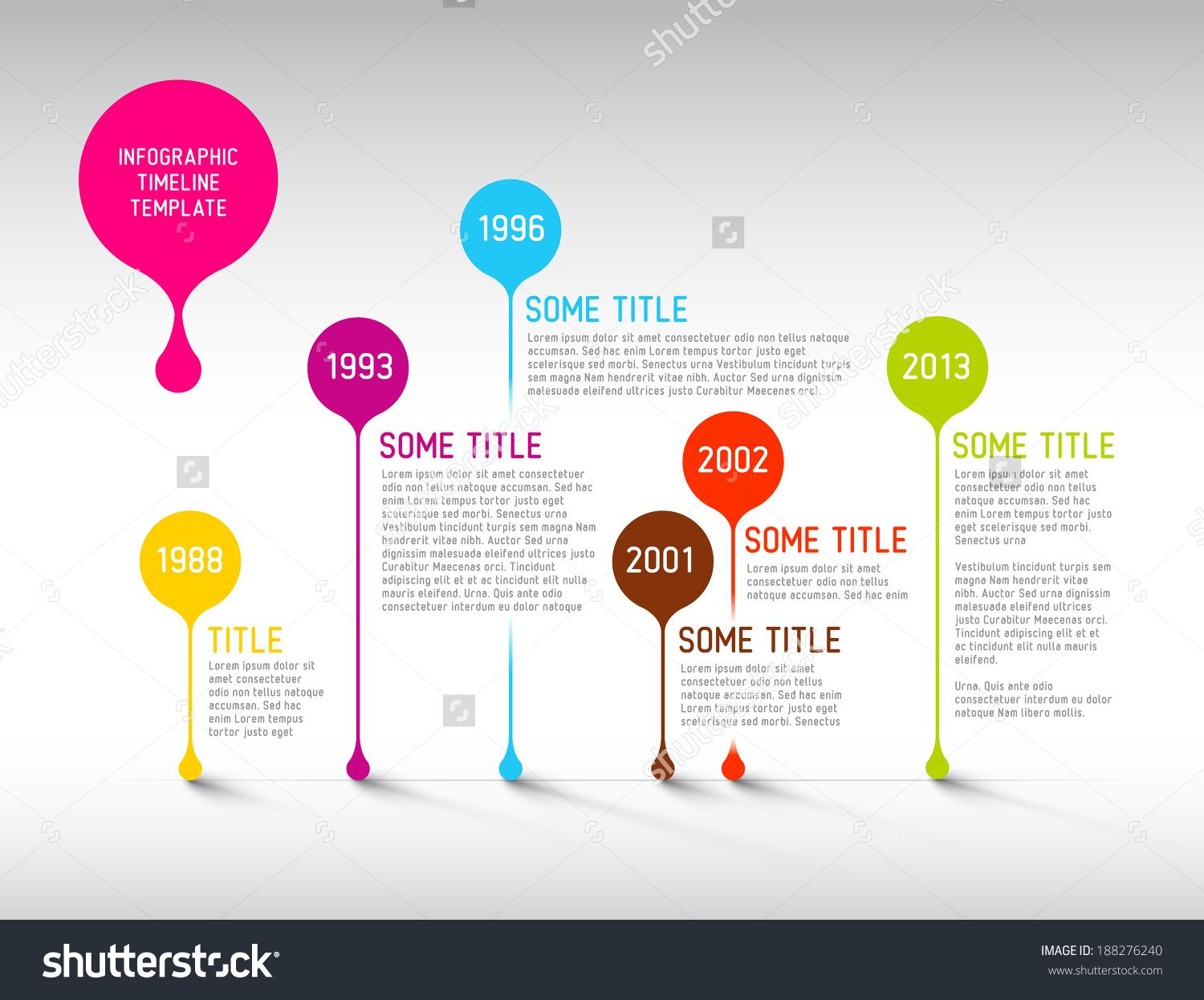 infographic timeline template