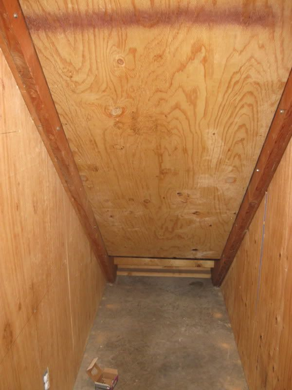 Man Made A Tornado Shelter By Reinforcing His Stairwell In