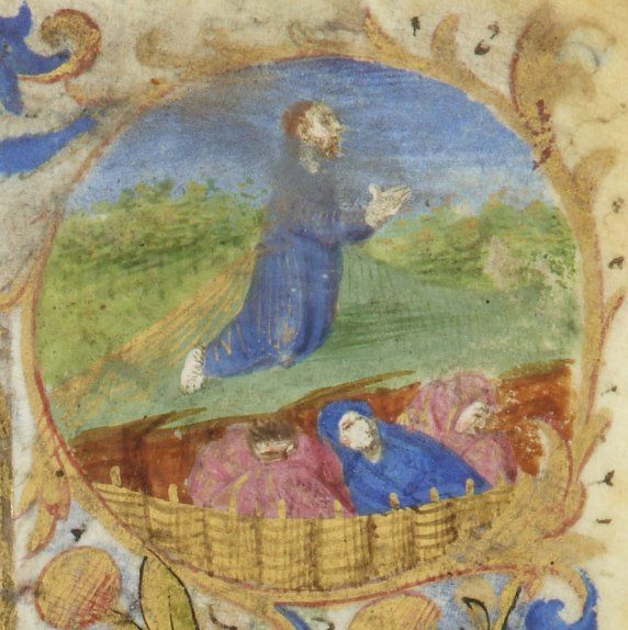 Taurus Hours use of Paris [Hours of Jeanne de France]. Date of ...