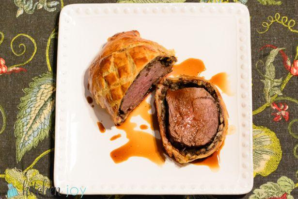 Beef Wellington Kitchen Joy Masterchef Recipes Beef Wellington Recipe Beef Wellington
