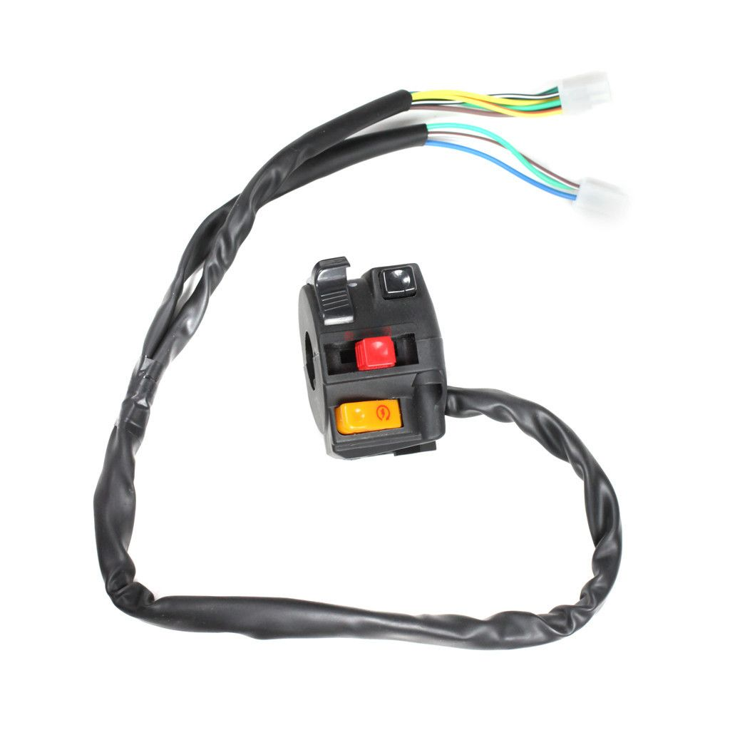 medium resolution of chinese atv handlebar starter switch version 15 10 wire vmc chinese parts