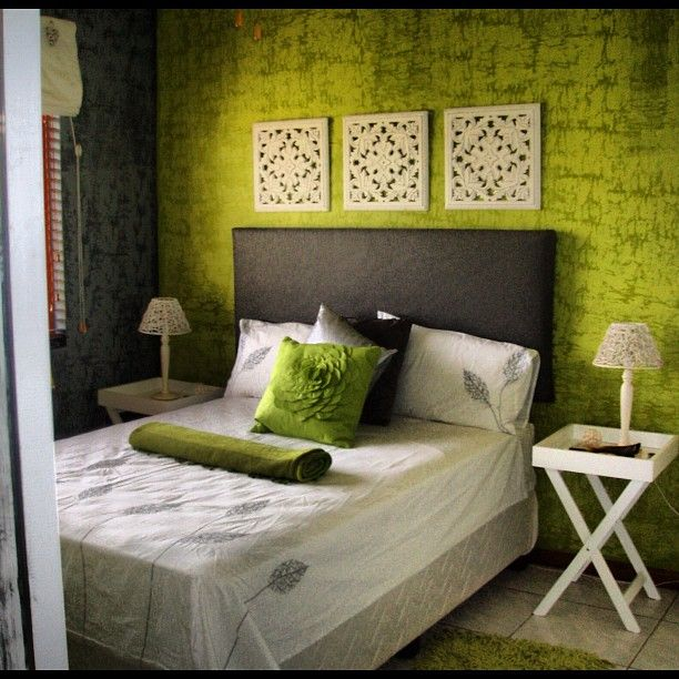 Lime Green/grey And White Zen Interiors