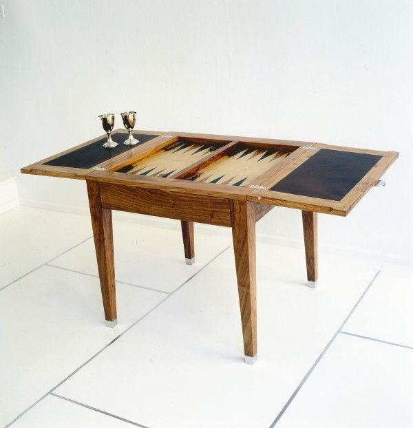 Justin Van Breda London Bespoke Furniture Backgammon Table