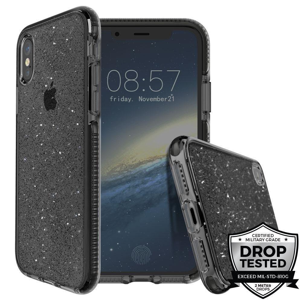 Prodigee Super Star Series iPhone X Case - Smoke