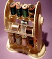 Vintage Thread Carrier by EmporiumofTreasures on Etsy