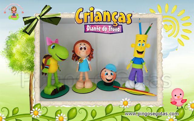 Fofuchos Criancas Diante Do Trono Criancas Diante Do Trono