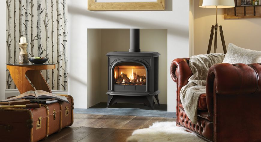 Huntingdon 40 Gas Stoves Gazco Traditional Stoves Gas Stove Front Room Design Gas Stove Fireplace