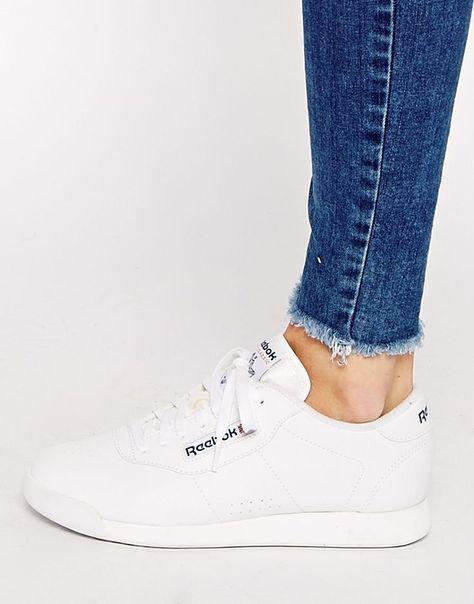 Reebok | Reebok Princess Spirit White Sneakers at ASOS | Omg
