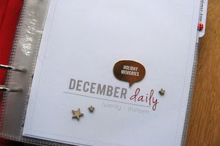 Serendipity Design: A peek into my December Daily