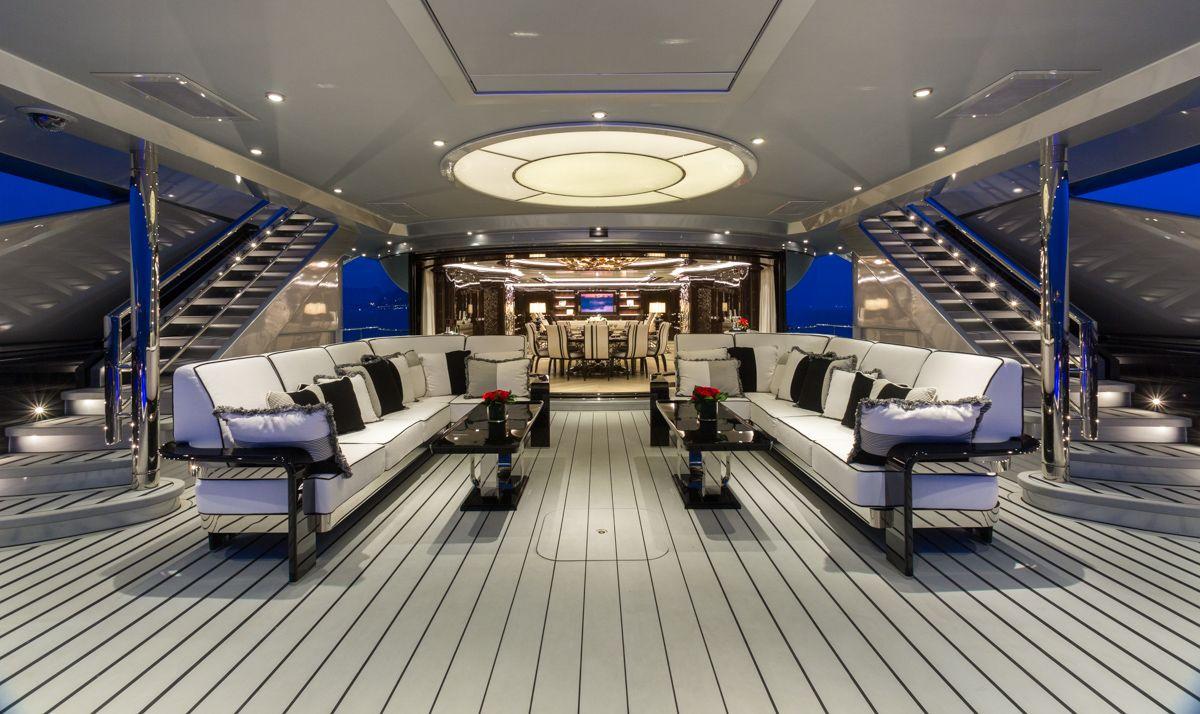 Innenarchitektur Yacht 10 years of innovation isa okto isaokto yachtinterior yacht