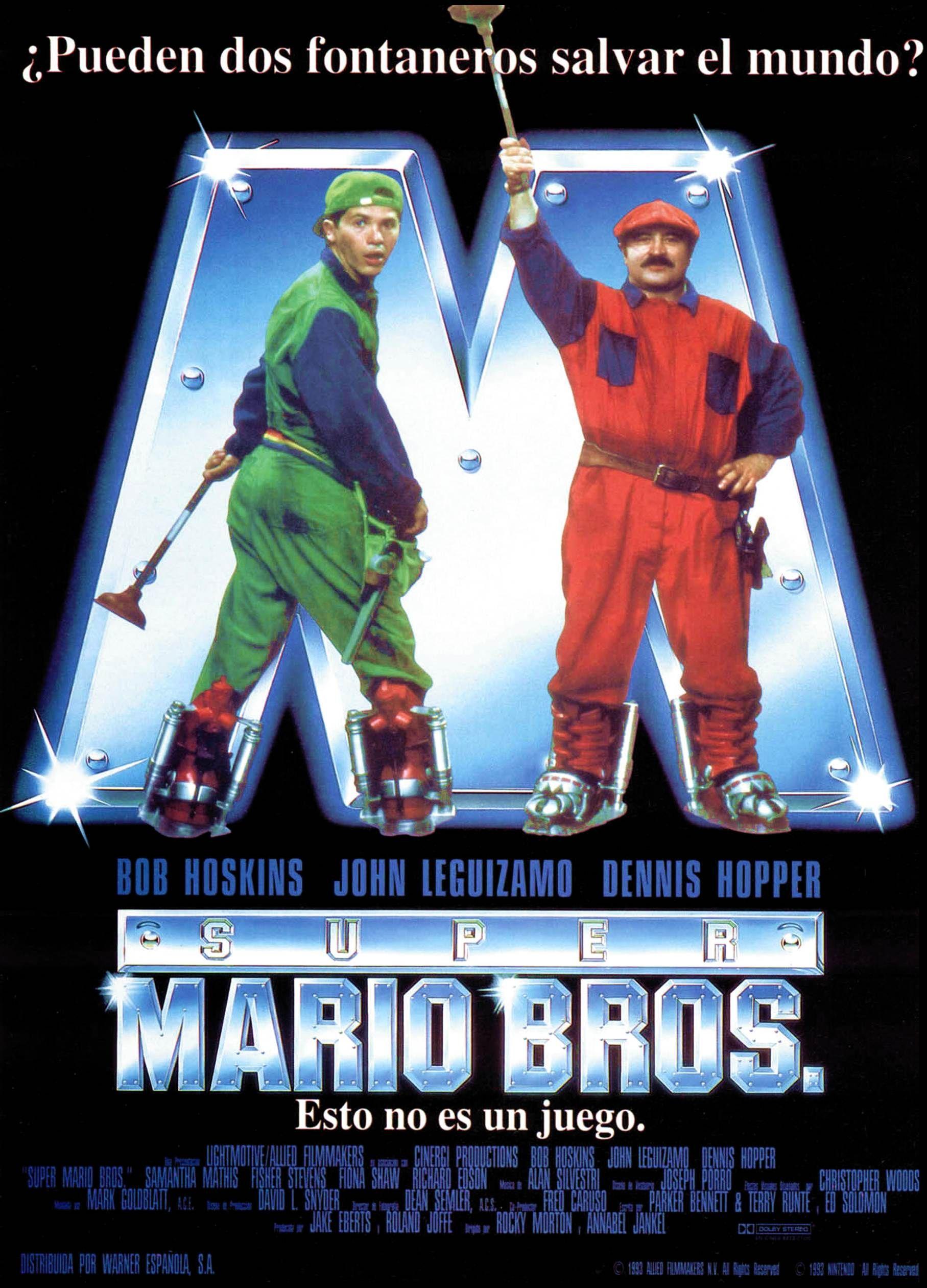 Super Mario Brothers Spanish Language Poster Josephporrodesigns