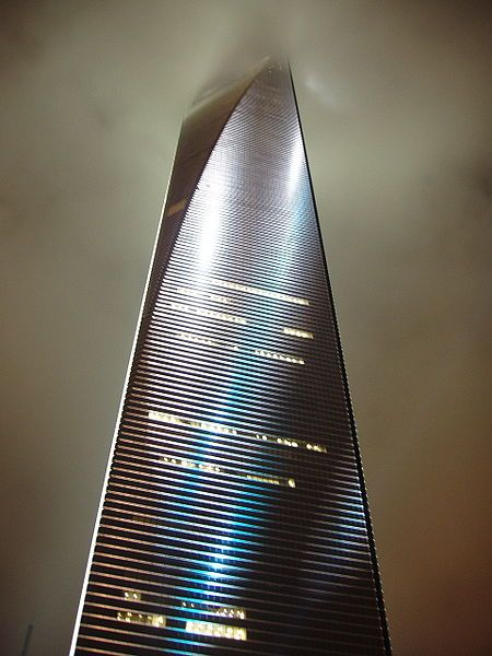 The Shanghai World Financial Center In China Is One Of The Tallest Buildings  In The World