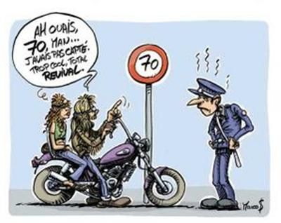 Pingl par eve heavy metal head sur motos bd comics - Motard humour images ...