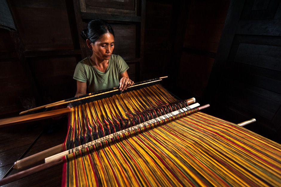 Basket Weaving Of Ifugao : Philippines traditional artifacts and cultural crafts