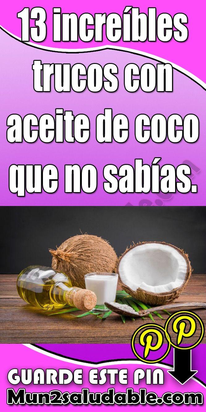 13 Increíbles Trucos Con Aceite De Coco Que No Sabías Mascara Food Beauty
