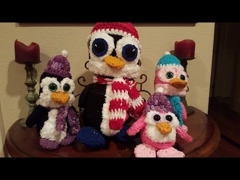 Crochet Amigurumi Penguin Part 1 of 2 DIY Tutorial - YouTube ...
