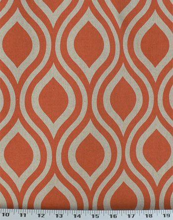 Nicole Tabby Orange Laken Online Drapery Fabrics And Upholstery Fabric Super