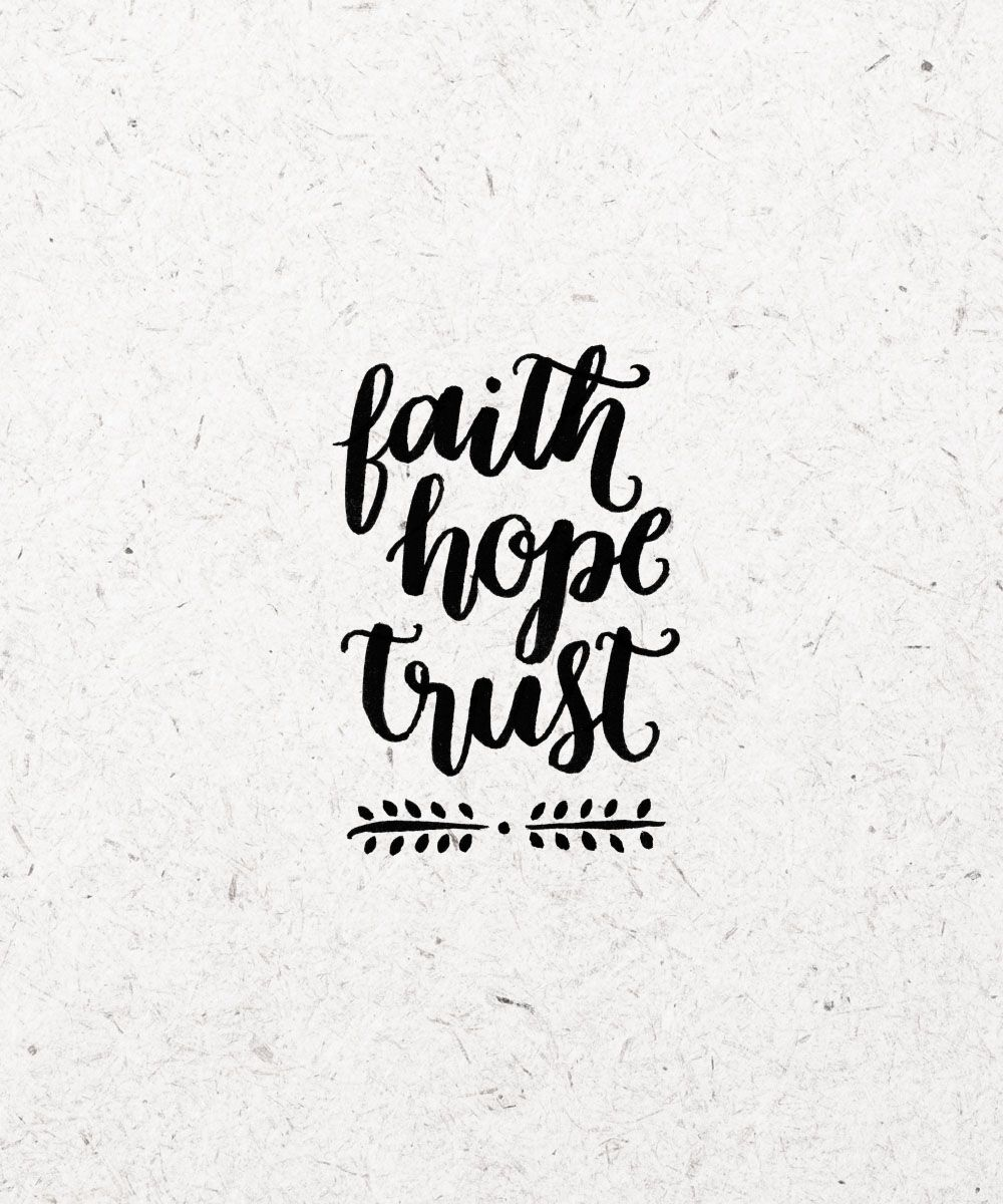 Hope And Faith Quotes: Help For The Philippines: Faith. Hope. Trust.