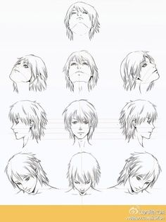 It S Always So Hard To Draw Different Perspectives Anime Character Drawing Anime Head Manga Drawing